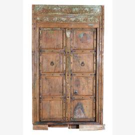 Inde 1900 Petite porte avec des ornements traditionnels