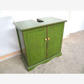 China Lavabo Meuble sous-lavabo Pine vert lustre Plinthe