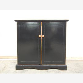 China Meuble vasque Vasque Pine high gloss noir