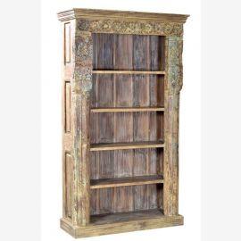 Inde belle étagère de livre à partir d'un vieux cadre de porte