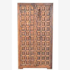 Inde 1900/2 armoire haute avant province de cassette du Rajasthan