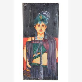 Peintures à l'huile d'origine noble Rajasthan