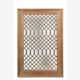 Fenêtre traditionnelle en teck de Jali