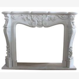 marbre Cheminée modèle «sur mesure» Colmar