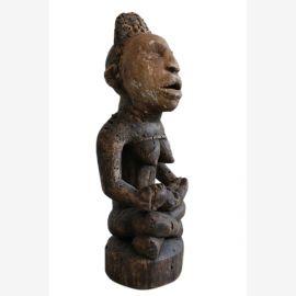 Yombe Bakongo tribu , 50cm, mère de protection de l'enfance , la protection contre la maladie , à environ 120-130 ans