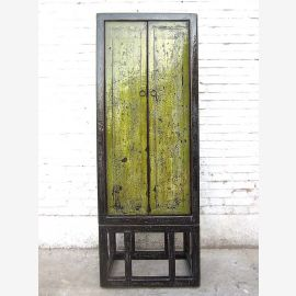 Chine maigre armoire saleté vert utilisé optique Pine