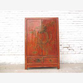 Cabinet du Tibet avec le dragon motif