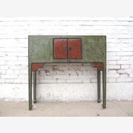 Mongolie Chine Commode technique 2 Tone