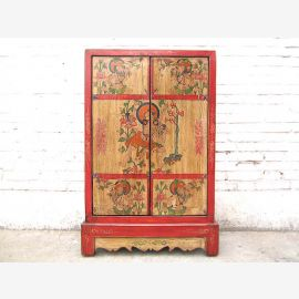 Chine mince CD-commode armoire mi-hauteur tibet pin