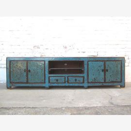 Chine cyan TV commode Lowboard Flat Panel utilisé regard lourd millésime