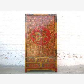 Tibet Cabinet motifs anciens