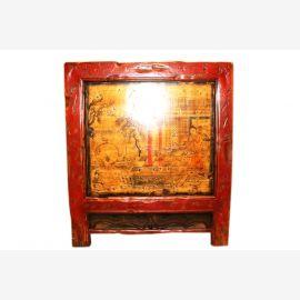 Chine, la Mongolie 1890 Antiquités armoires de cuisine en bois laqué