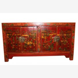 Chine vers 1940 large buffet / commode dans un style traditionnel