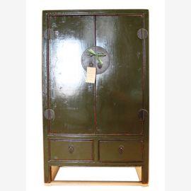 Chine semi- haute armoire commode crédence olive bois de pin