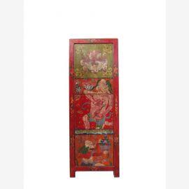 Tableau Highboard Tibet 120 années de motif