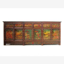 Traum Sideboard Mongolei Antik Finish