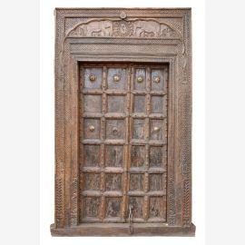 """Inde 1910 Porte Porte cadre massif conception enchanteur du """"Luxury-Park"""""""