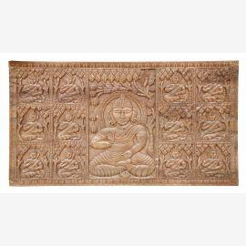 Belle porte du panneau décoratif sculpté à la main à partir de l'Inde