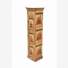 INDE grande armoire penderie almirah maharaja cour royale de peinture D ED- 11 61-01