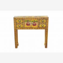 Petite table commode table de téléphone de couloir latéral en bois massif D India ED- 11 62-03