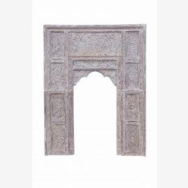 India Gate cadre de porte feuille de décalcomanie pour l'installation de sculpture sur bois