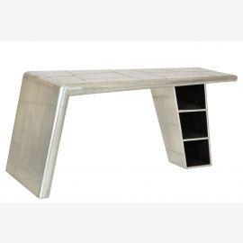 Table à manger meubles Airrange aluminium de l'avion recyclé