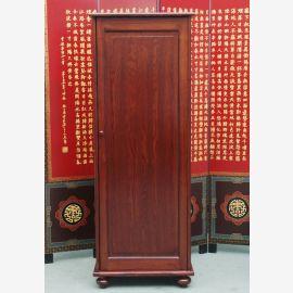 Chine haute tour commode tiroir meuble à chaussures marron solide de pin