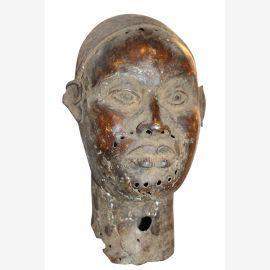 Afrique Büse bronze antique environ 80 ans
