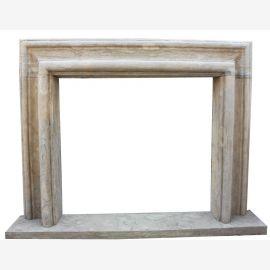 Cheminée en marbre, cheminée sur mesure en marbre massif K076