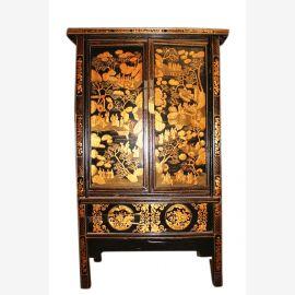 Tibet antique frame 90 avec une belle sculpture de la peinture