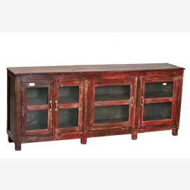 Inde 1910 verre commode commode crédence affichage Buffet armoire