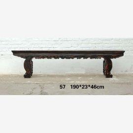 Chine immaculée chaise en bois sculpté sculpté travail de tourneur sur bois