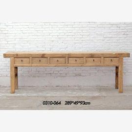 Buffet de Chine en bois de première qualité avec guidage en ligne claire.