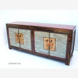 Buffet en bois de haute qualité en provenance de Chine avec un concept de couleurs raffinées.