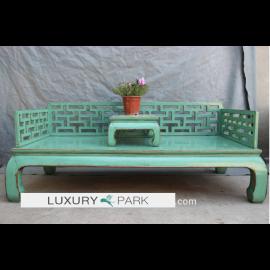 Cadre de lit chinois solide avec des détails raffinés