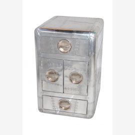 NEW meubles en aluminium avions tiroirs de chevet recyclage