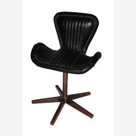 Chaise tournante nouveau cuir de cuivre de meubles d'aéronefs chaise pivotante