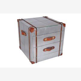 Les meubles du recyclage de l'aluminium commode tiroirs deux avions