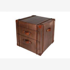 Les meubles du recyclage de cuivre commode tiroirs deux avions