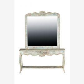 Miroir de combinaison et de la table