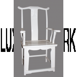 Chaise Chine solide Ivoire Blanc