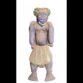 Sculpture Afrique 70ys. Pearl Skin Rarement