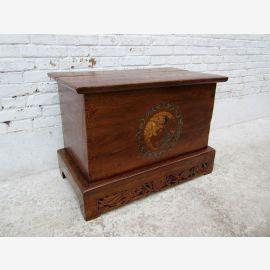 Chine Shanxi 1890 style classique poitrine tronc boîte en bois d'orme occasion ID SD.D.11