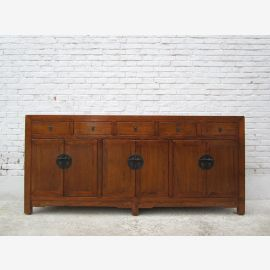 Chine Commode de style tiroirs peint pin D SD.D.12.3