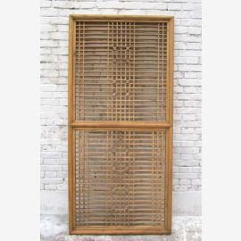 Style classique Chine conçu la décoration murale de la porte en treillis en filigrane dans le meilleur état