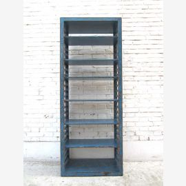 Chine haut d'une étagère en bois de pin de l'apparence élégante et sophistiquée bleu clair