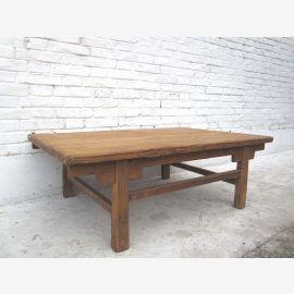 Shanxi en Chine vers 1890 table classique en bois de pin massif