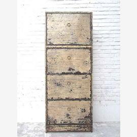"""Chine grand meuble à chaussures blanc antique peint regard shabby chic 4 grandes tiroirs de notre best-seller du """"Luxury-Park"""""""