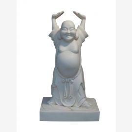 90 annees de la statue de Bouddha Figure Sculpture migratoire Chine anciennes du parc de luxe