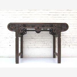"""Chine Table armoire de bois Buffet classique de l'orme de la sculpture de style colonial du """"Luxury-Park"""""""